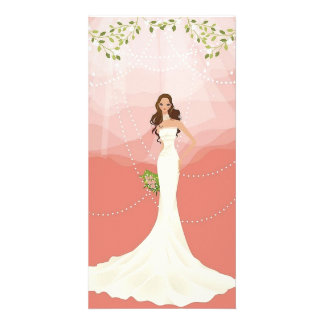 Wedding Vector Graphic 18 Photo Card Template
