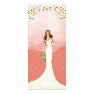 Wedding Vector Graphic 18 Customized Rack Card