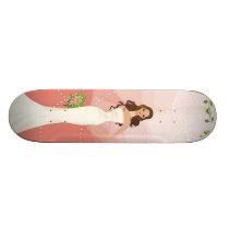 Wedding Vector Graphic 18 Skateboard Deck
