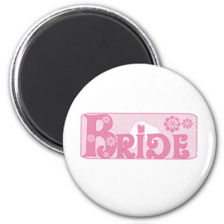 Wedding Veil Bride Magnet