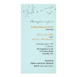 Wedding Vines Rehearsal Invitation Photo Cards