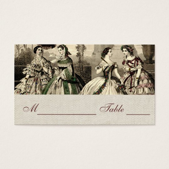 Wedding Vintage Antique Bride Business Card