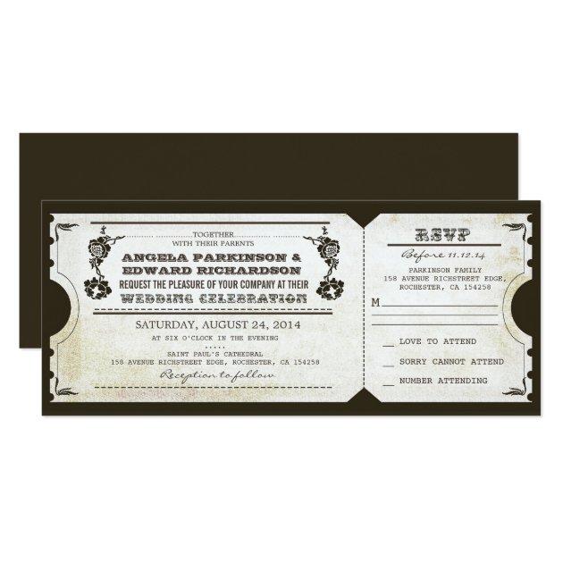 Wedding Invitation Rsvp was best invitations template