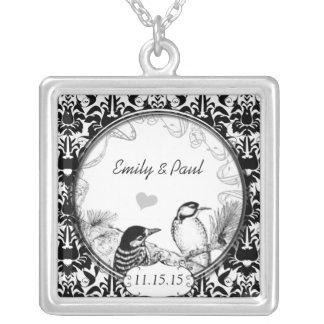 Wedding Vintage Woodpeckers Anniversary Necklace