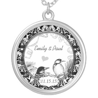 Wedding Vintage Woodpeckers Anniversary Necklace