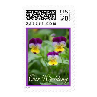 Wedding Violas Postage