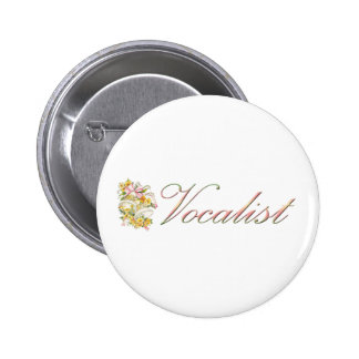 Wedding Vocalist Button