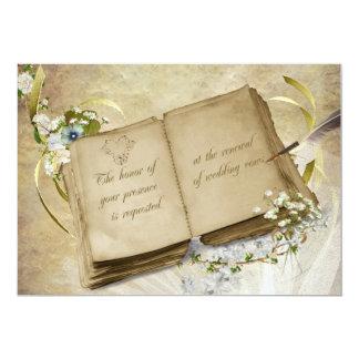 Wedding Vow Renewal 5x7 Paper Invitation Card
