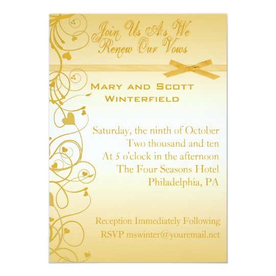 Wedding Vow Renewal Invitations: Wedding Vow Renewal Invitations