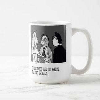 Wedding Vows  funny cartoon by ric leonard Coffee Mug