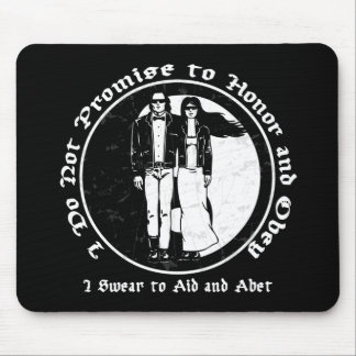 Wedding Vows Mouse Pad