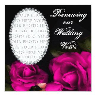 Wedding Vows Renewed - Invitation - Photo Custom Invitations