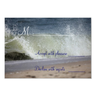 Wedding Waves RSVP cards