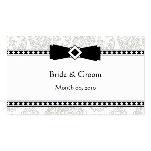 Wedding Website business cards
