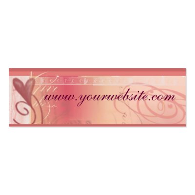Wedding website cards business card templates by aslentz