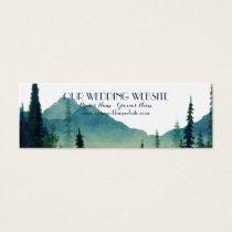 Wedding Website Cards - Camping Wedding