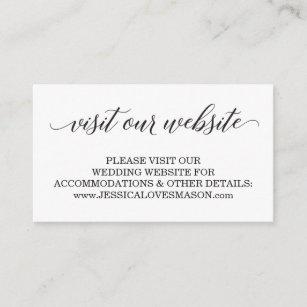 Wedding Reception & Enclosure Cards   Zazzle