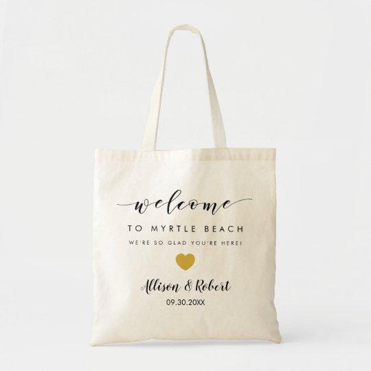 Wedding Welcome Bag for Hotel Destination Guests | Zazzle.com