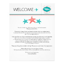 Wedding Welcome Letter for Jamaica Letterhead