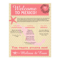 Wedding Welcome Letter for Puerto Vallarta Mexico Letterhead