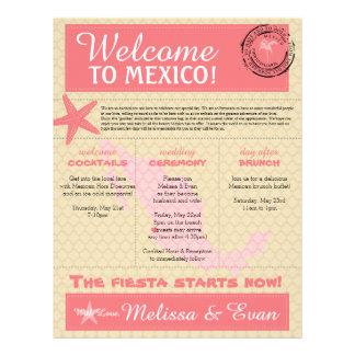 Wedding Welcome Letter for Puerto Vallarta Mexico Letterhead