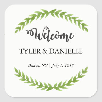 Wedding Welcome Sticker