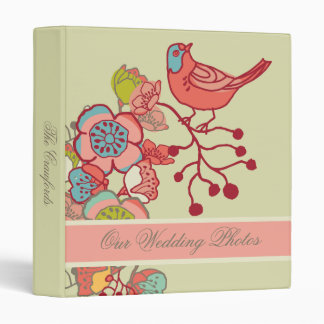 Wedding Whimsy Birds Wedding Binder