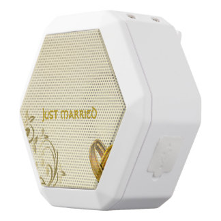 Wedding White Bluetooth Speaker