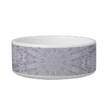 Wedding White Lace Mandala Kaleidoscope Abstract 1 Bowl