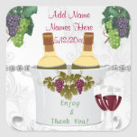 WEDDING Wine Label Stickers for FAVORS