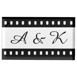 Wedding With A Movie Film Theme Holder Table Card Holder