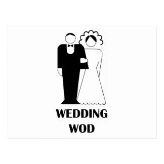 Wedding WOD Postcard