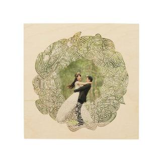 Wedding Wreath Wood Print