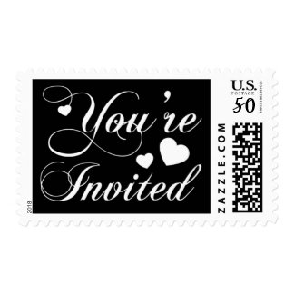 Wedding You're Invited Postage