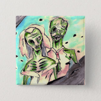 Wedding Zombies Button