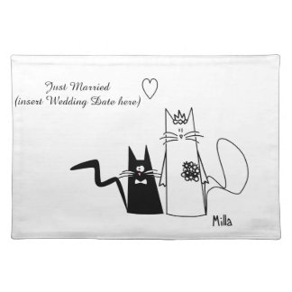 WeddingCats Placemat