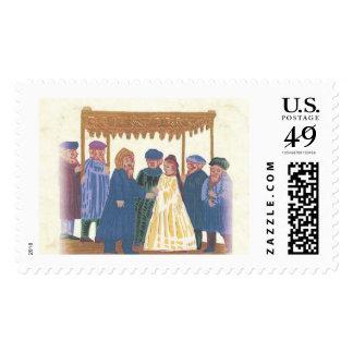 WeddingJ2 Postage Stamp
