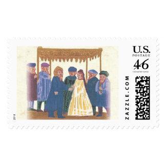 WeddingJ Postage Stamp