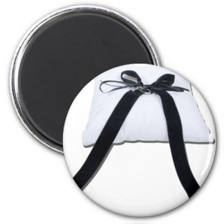 WeddingPillow122410 2 Inch Round Magnet