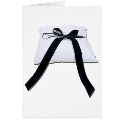 WeddingPillow122410 Tarjeta De Felicitación