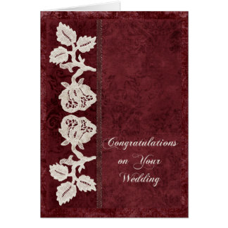 Weddings and Old Lace Cards
