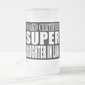 Weddings Birthdays Christmas Super Daughter in Law Coffee Mug