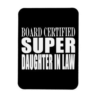 Weddings Birthdays Christmas Super Daughter in Law Vinyl Magnet