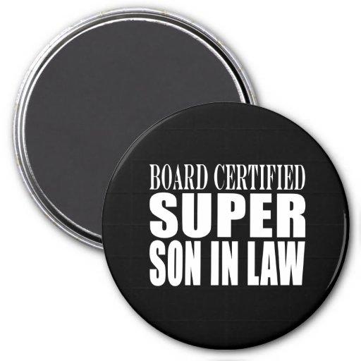 Weddings Birthdays Parties : Super Son in Law 3 Inch Round Magnet