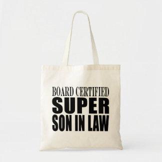 Weddings Birthdays Parties : Super Son in Law Canvas Bag