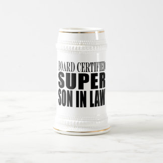 Weddings Birthdays Parties : Super Son in Law Beer Stein
