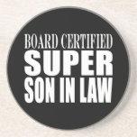 Weddings Birthdays Parties : Super Son in Law Coasters