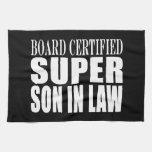 Weddings Birthdays Parties : Super Son in Law Hand Towel