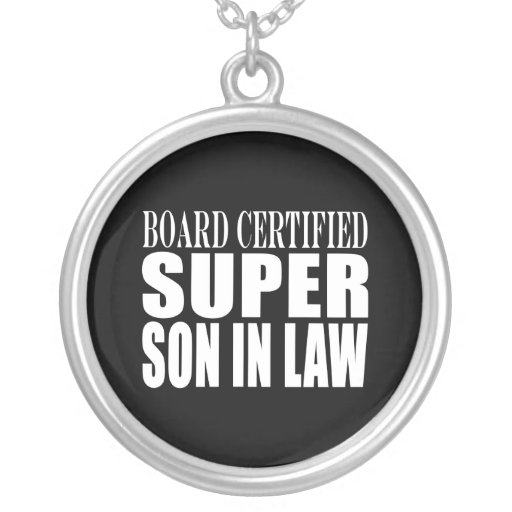 Weddings Birthdays Parties : Super Son in Law Pendants