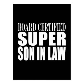 Weddings Birthdays Parties : Super Son in Law Postcard